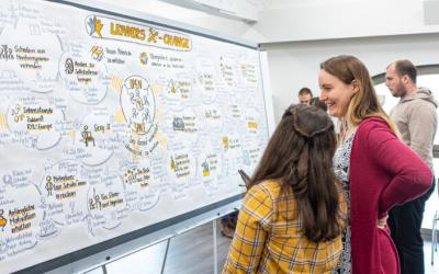 Der Alumni-Verein auf dem Leaders X-Change in Halle